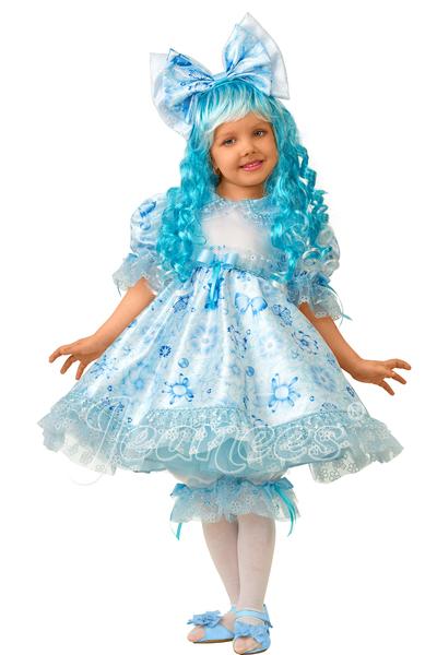 Мальвина Cказочная детский карнавальный костюм