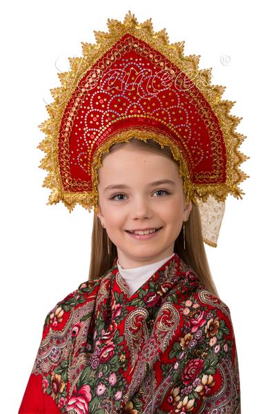 Кокошник Сказочный, детский