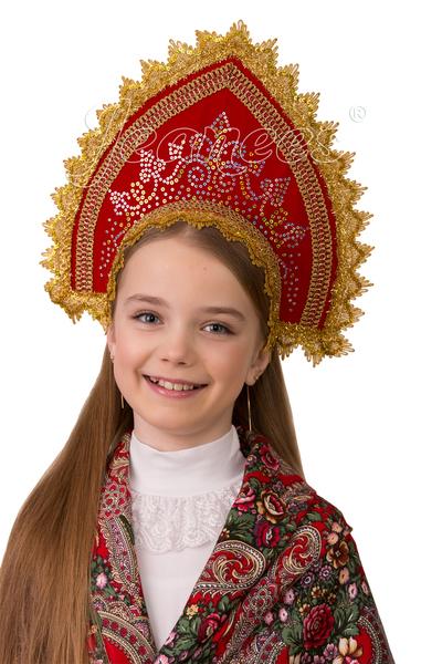 Кокошник Забавушка, детский