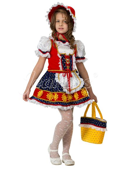 Красная Шапочка детский костюм для праздников и представлений
