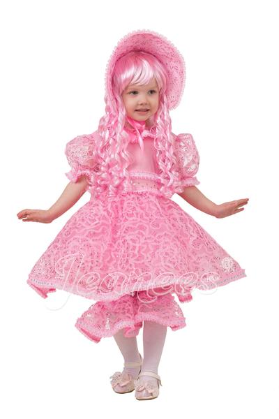 Кукла детский карнавальный костюм со светлым париком