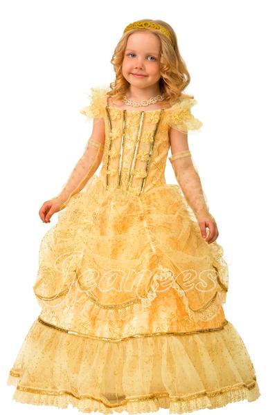 Золушка Сказочная детский карнавальный костюм