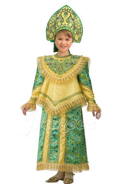 Царевна детский карнавальный костюм