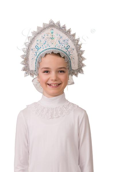 Кокошник Зимушка, детский