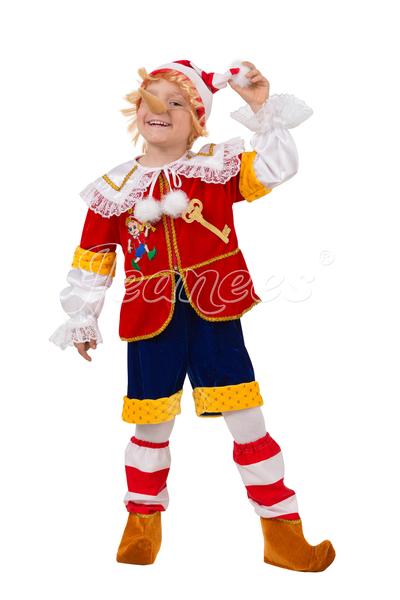 Буратино детский карнавальный костюм