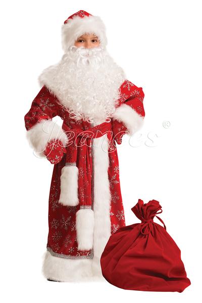 Дед мороз красный велюр