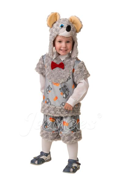 Мышонок Шустрик детский карнавальный костюм