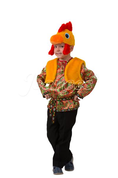 Петушок Петруша детский карнавальный костюм