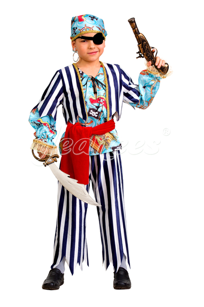 Пират сказочный детский карнавальный костюм