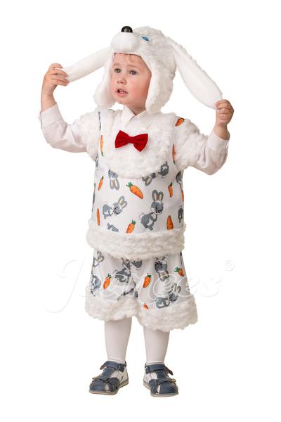 Зайчонок Плутишка детский карнавальный костюм