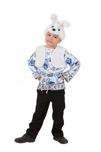 Зайчонок Ванятка детский карнавальный костюм