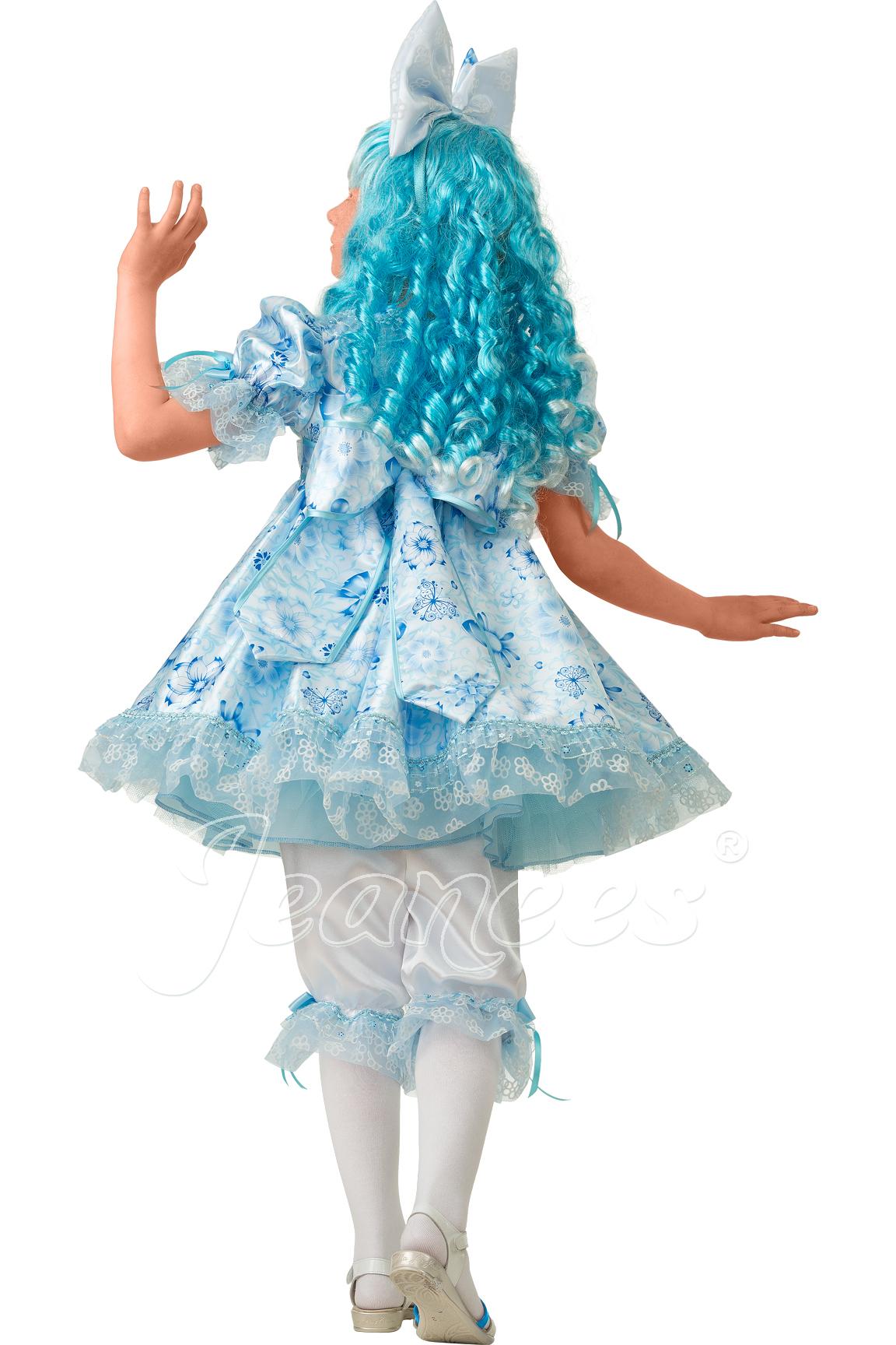 Мальвина Cказочная детский карнавальный костюм, изображение 6