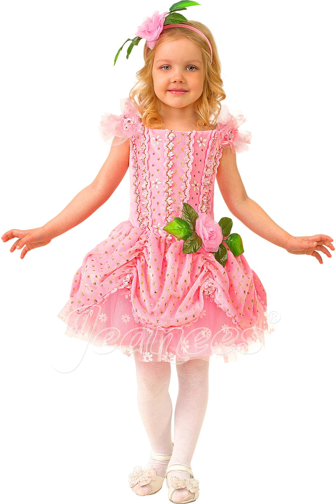 Дюймовочка детский карнавальный костюм, изображение 2