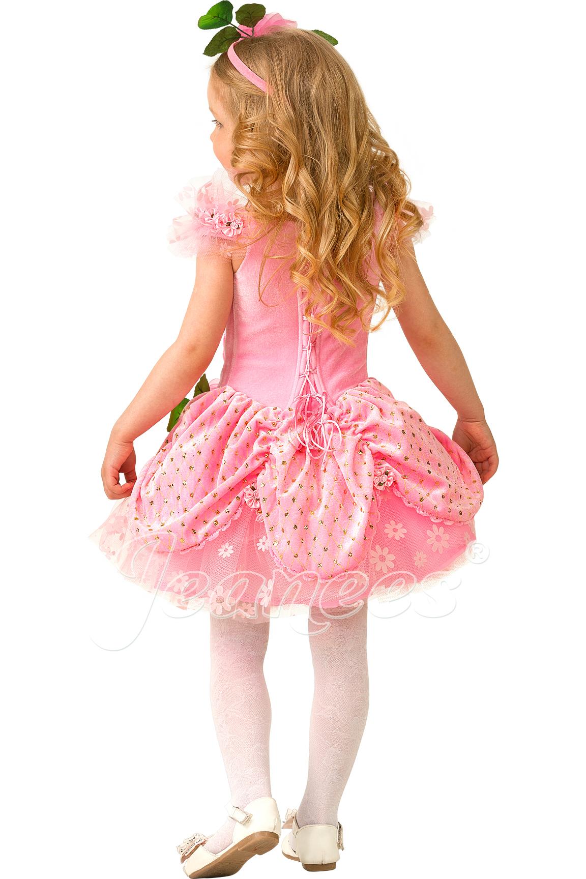 Дюймовочка детский карнавальный костюм, изображение 4