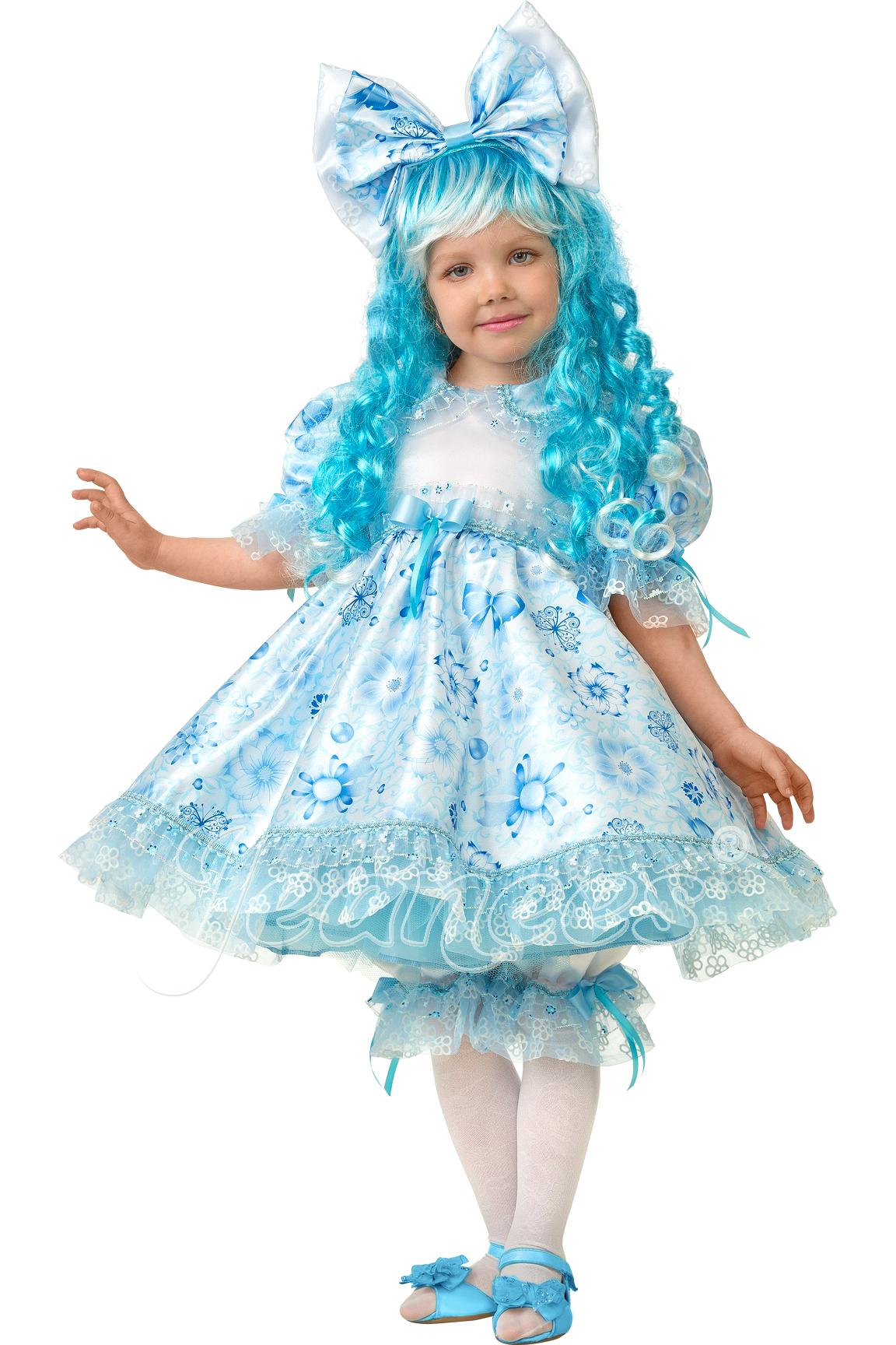Мальвина Cказочная детский карнавальный костюм, изображение 2