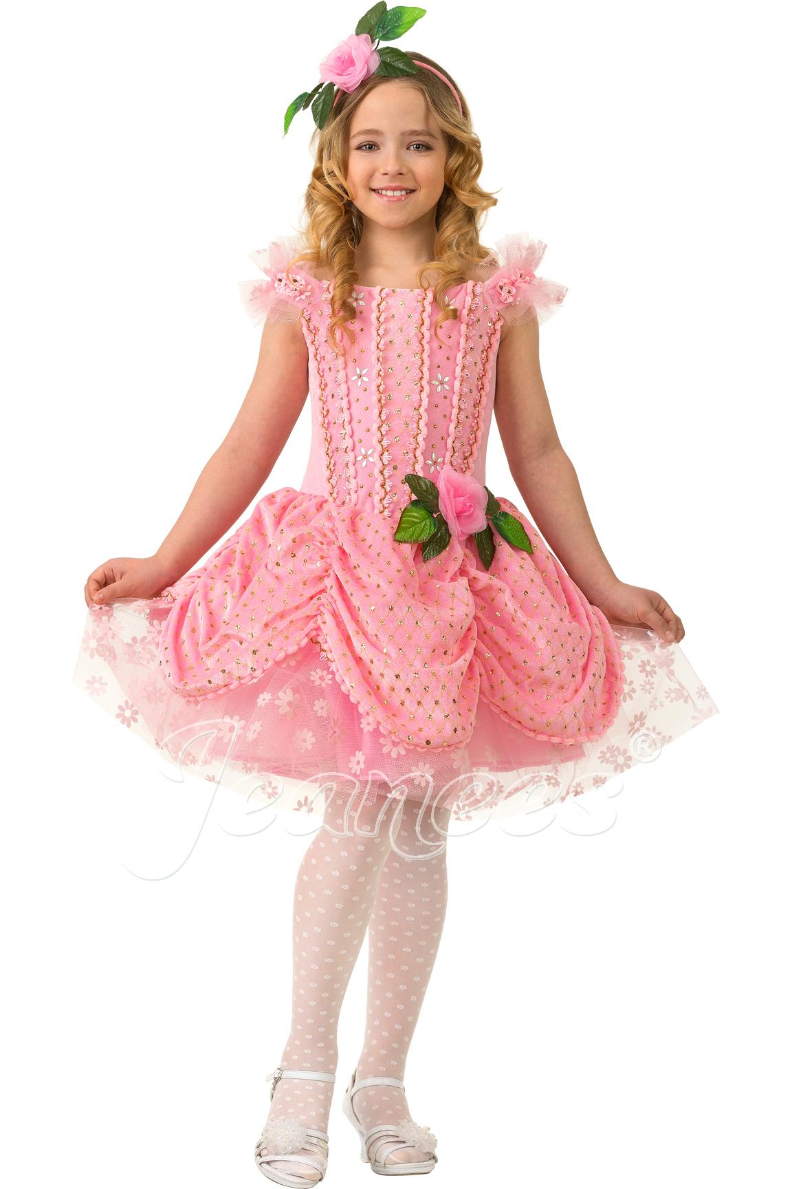 Дюймовочка детский карнавальный костюм, изображение 5
