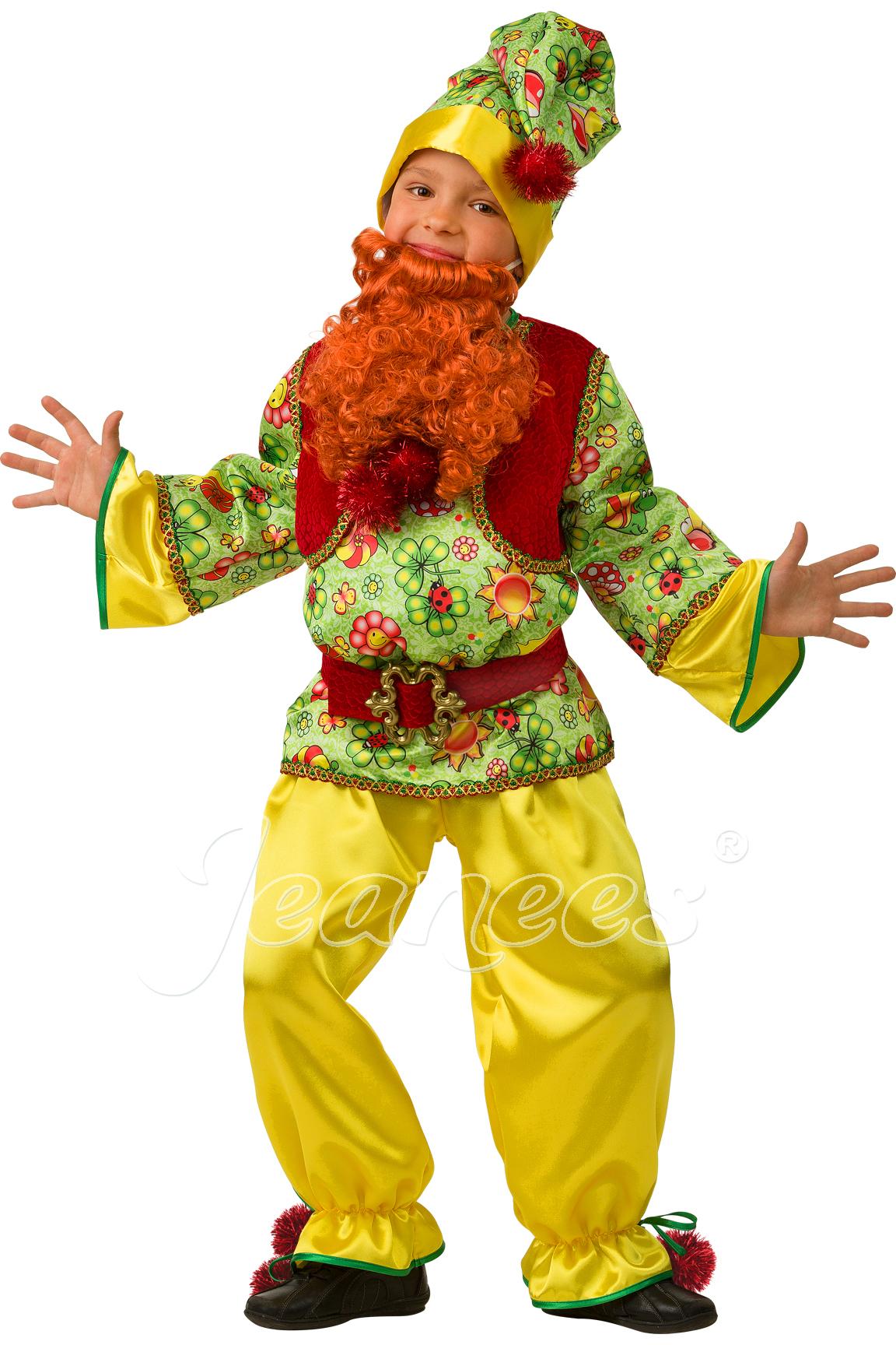 Гномик Cказочный детский карнавальный костюм, изображение 2