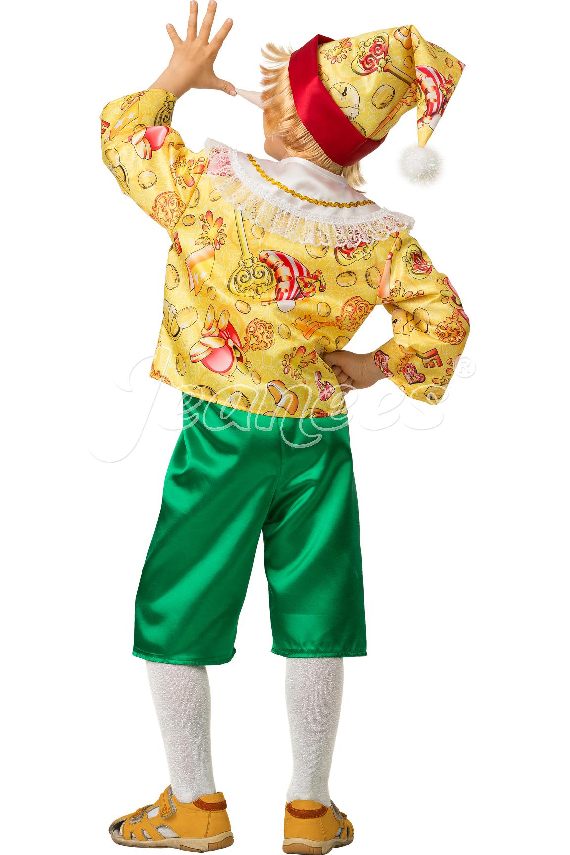 Буратино Сказочный детский карнавальный костюм, изображение 3