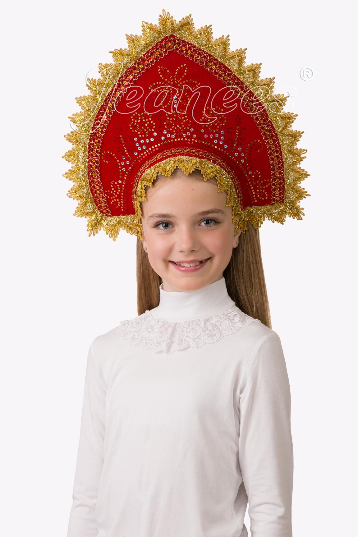 Кокошник Боярушка, детский