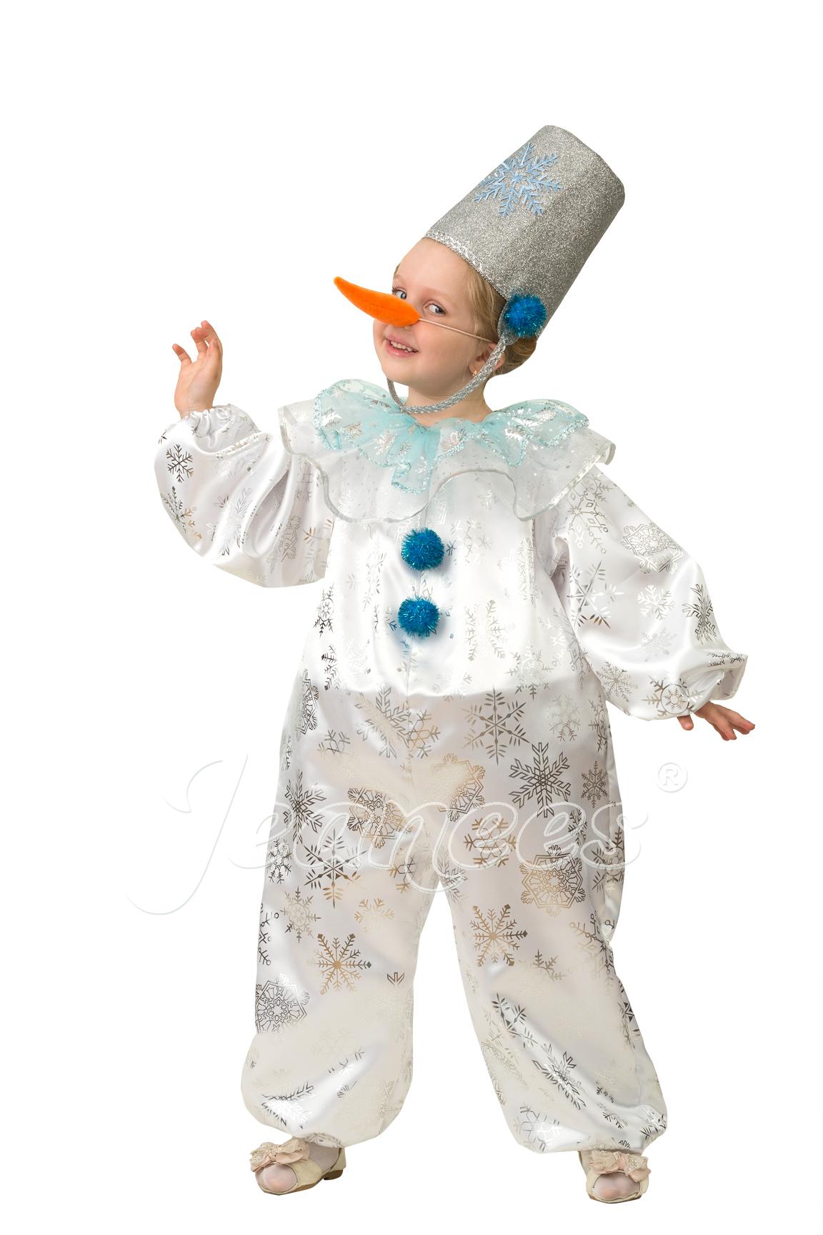 Снеговичок-Снежок детский карнавальный костюм, изображение 4
