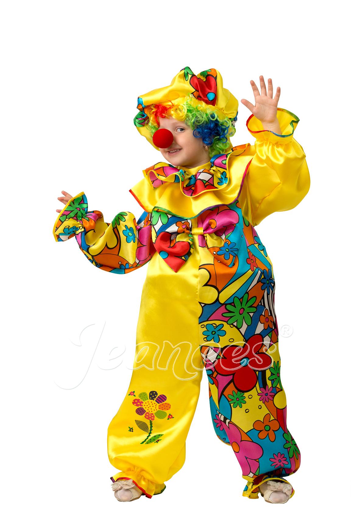 Клоун Сказочный детский карнавальный костюм, изображение 2