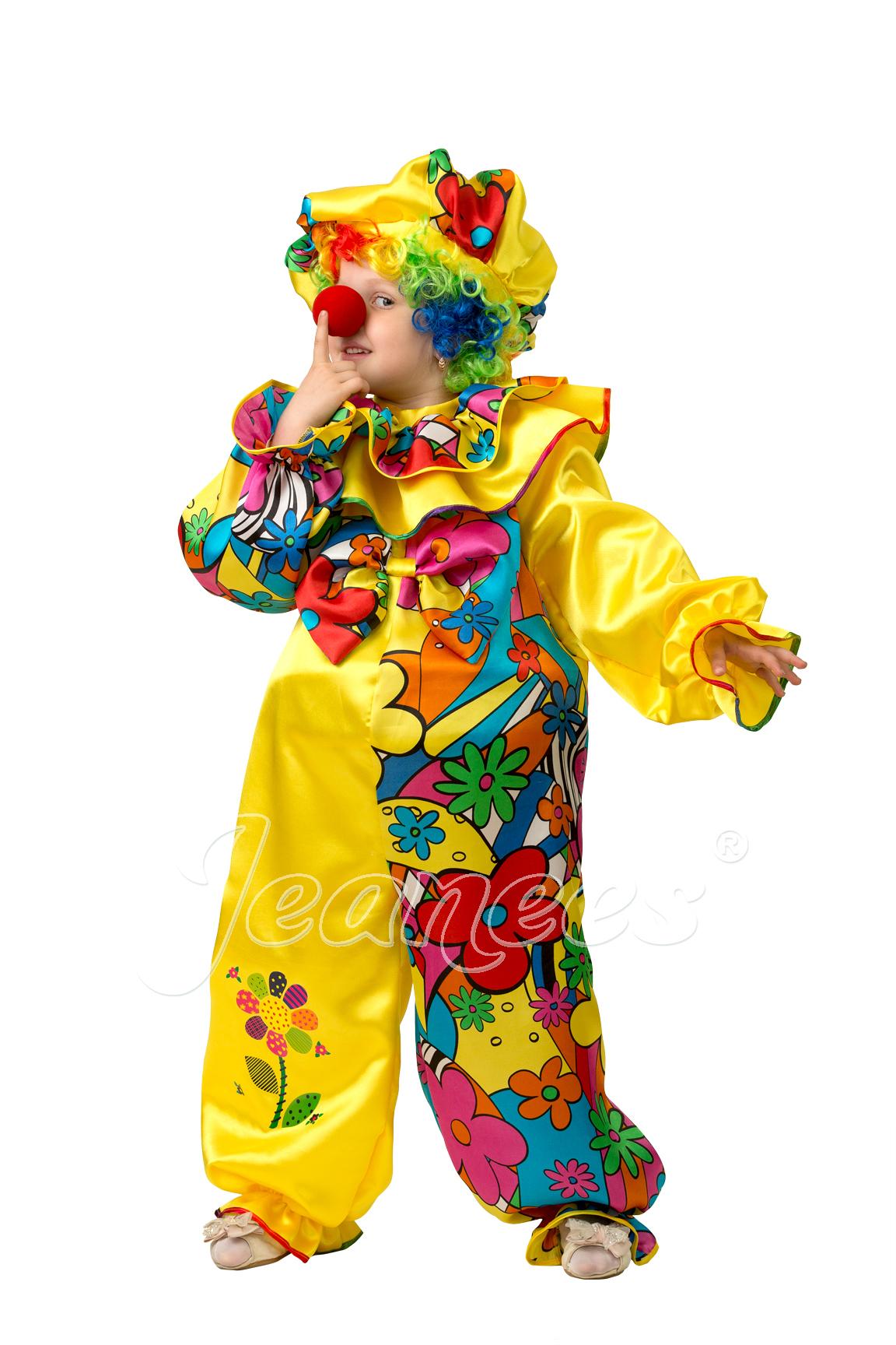 Клоун Сказочный детский карнавальный костюм, изображение 4