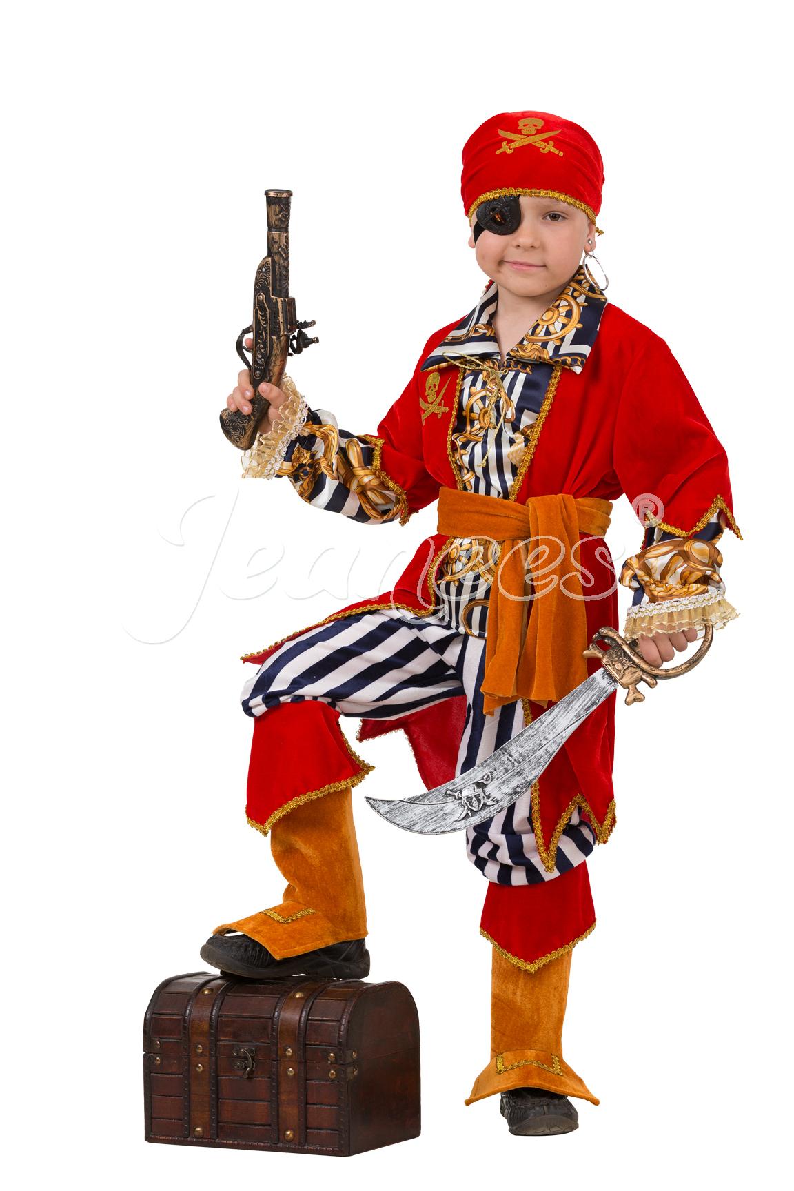 Пират Морской детский карнавальный костюм