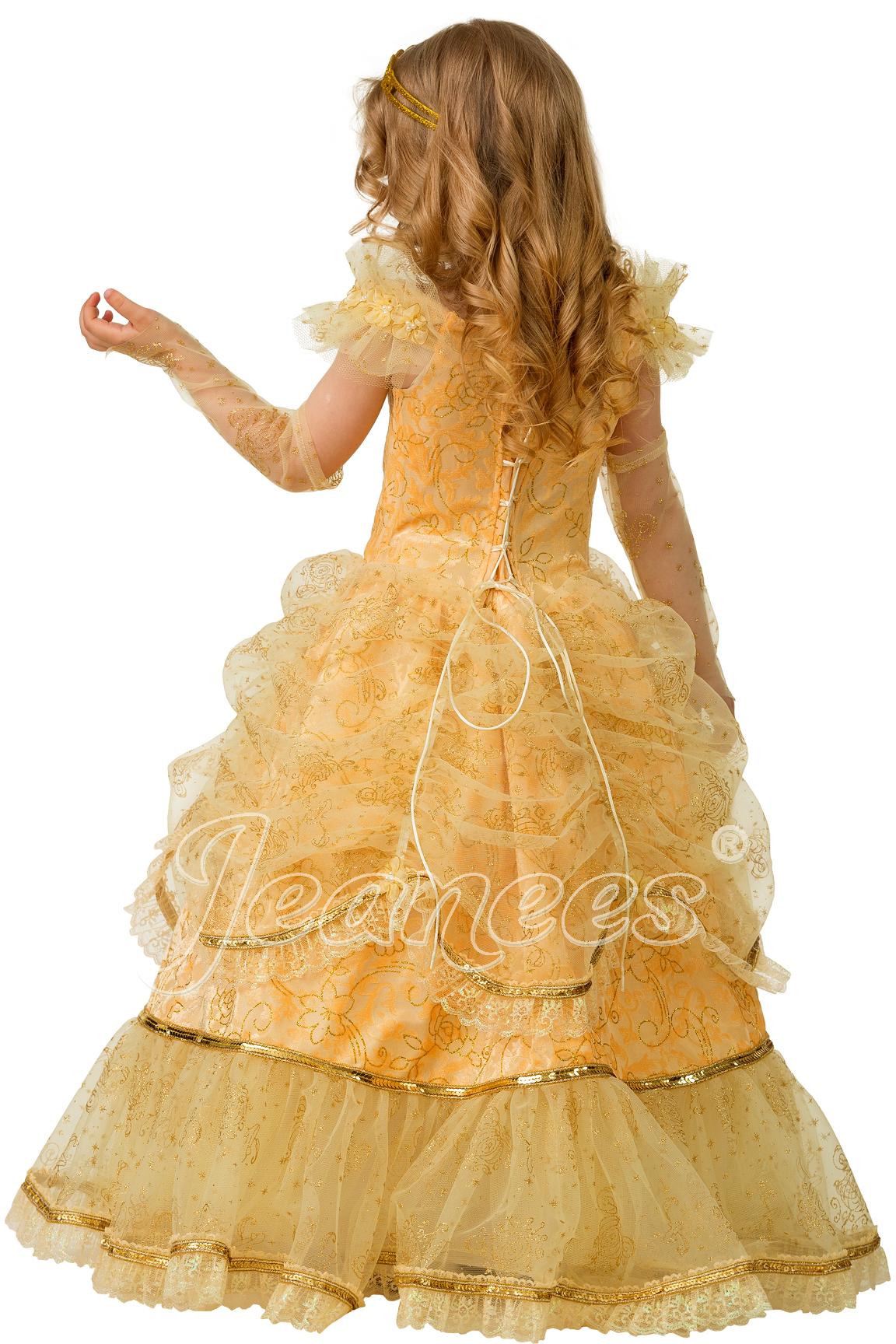 Золушка Сказочная детский карнавальный костюм, изображение 5