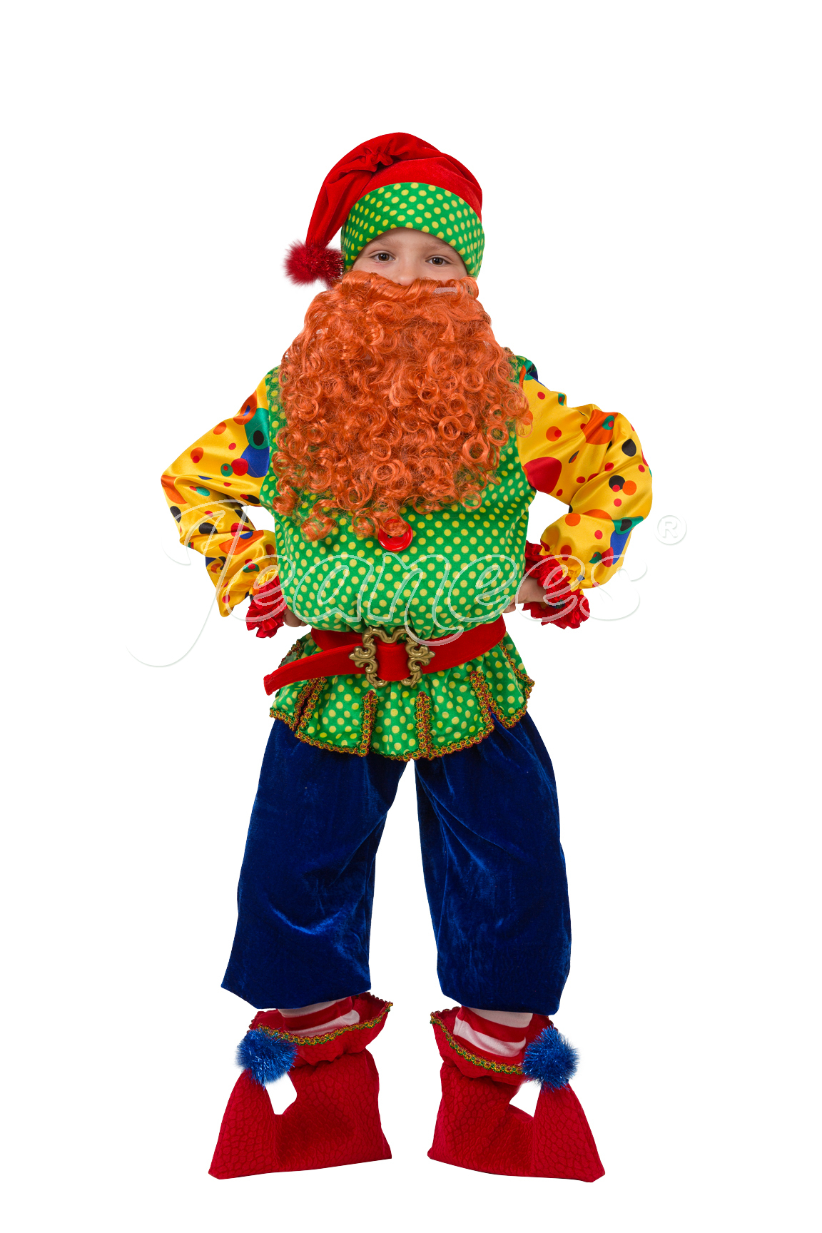 Гном Том детский карнавальный костюм