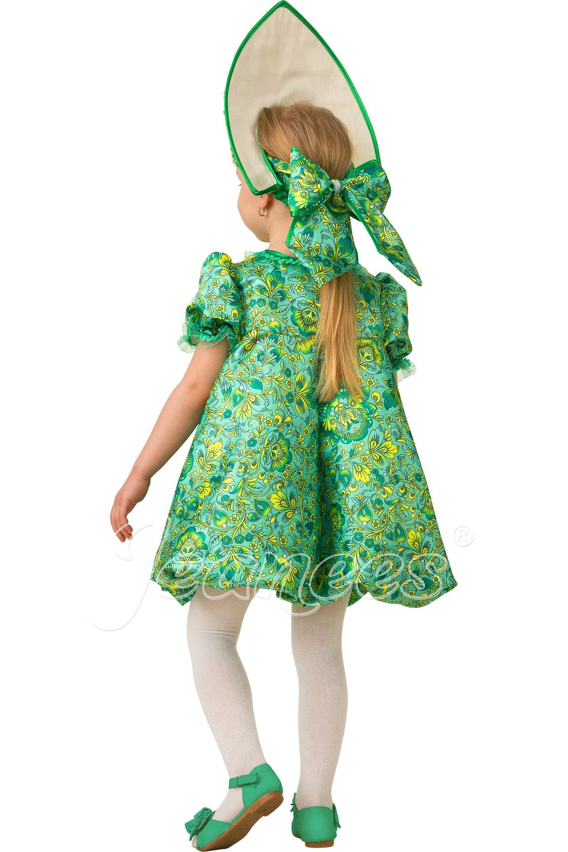 Царевна-Лягушка детский карнавальный костюм, изображение 3