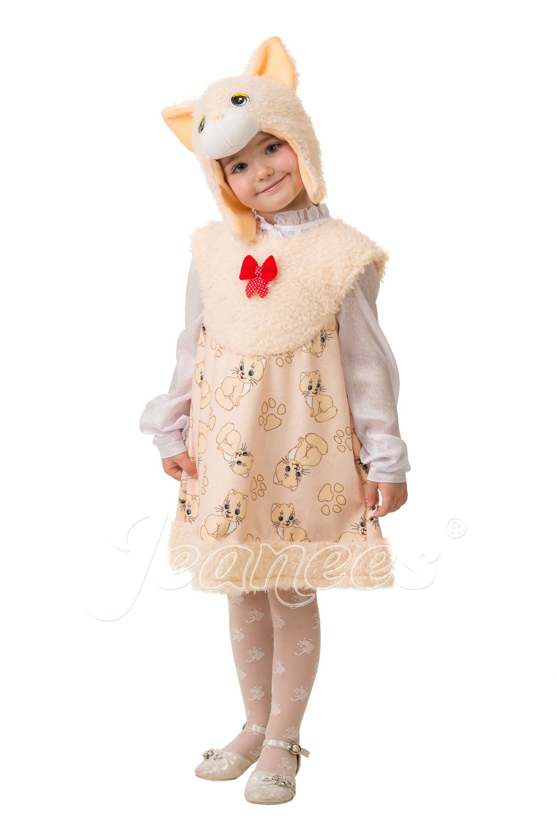 Кошечка Ася детский карнавальный костюм