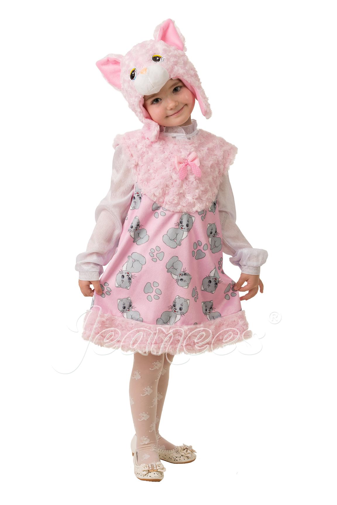 Кошечка Муся детский карнавальный костюм
