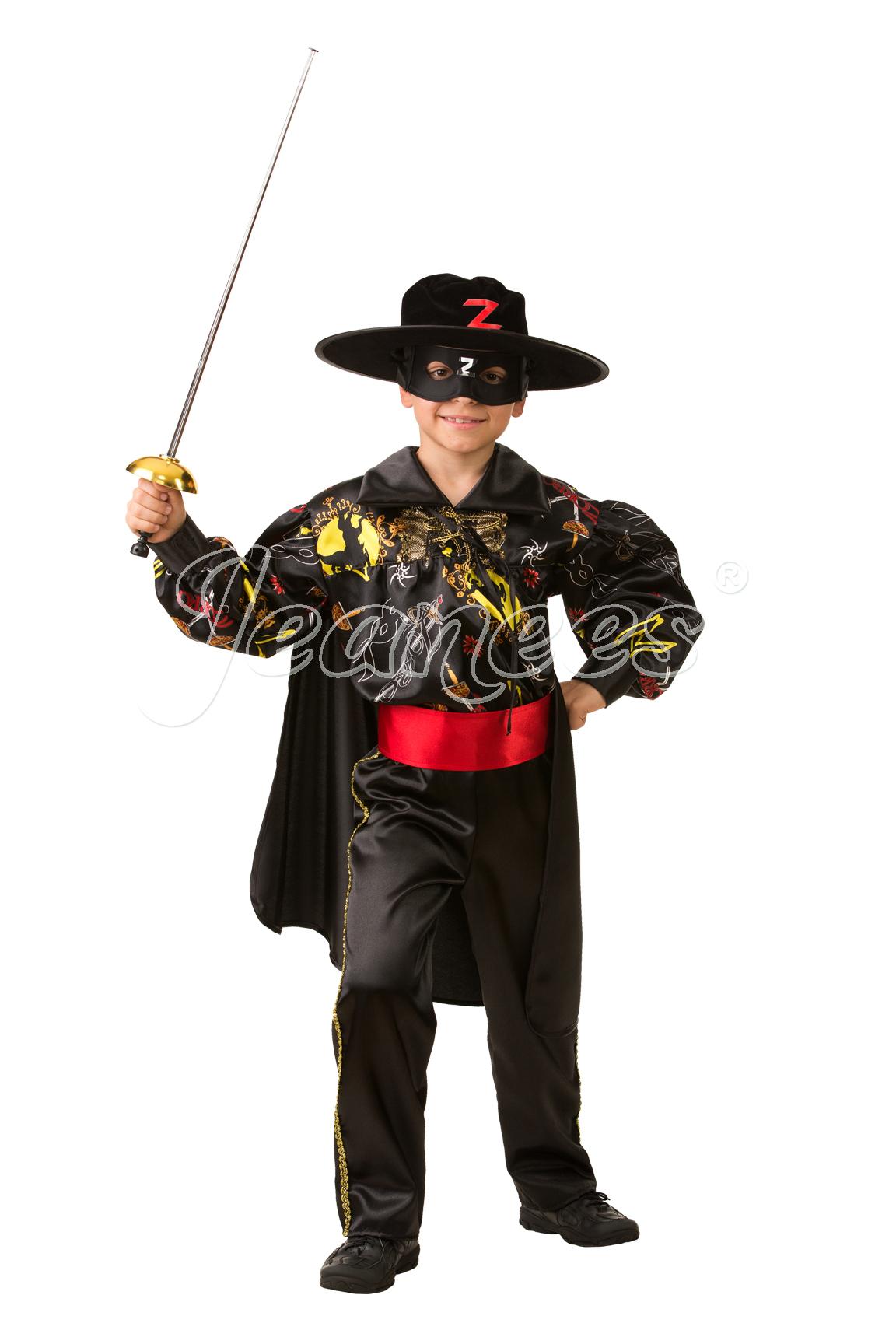 Зорро Cказочный детский карнавальный костюм