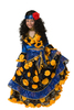 Цыганка-гадалка синяя детский маскарадный костюм, изображение 3