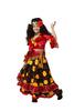 Цыганка-гадалка детский театральный костюм, изображение 2